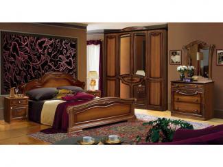 Спальня Александрина 2.01 - Мебельная фабрика «Ружанская мебельная фабрика»