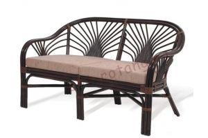 Диван двухместный - Импортёр мебели «Элит-Ротанг (Индонезия)»