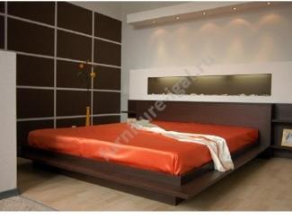 Комфортная двухспальная кровать  - Изготовление мебели на заказ «Игал»