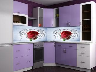 Яркая угловая кухня Смак 5 - Мебельная фабрика «Лига Плюс»