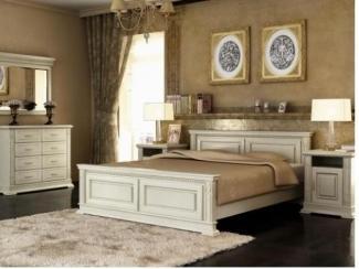 Спальня из натурального дерева Порто - Мебельная фабрика «Дубрава»