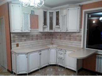 Кухня с фасадами массив дуба  - Мебельная фабрика «Средневолжская мебельная фабрика»