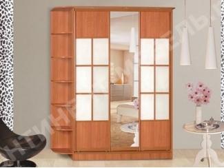 Шкаф-купе 2 с полками - Мебельная фабрика «Континент-мебель»