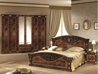 Спальный гарнитур «Рома орех» - Оптовый мебельный склад «Дина мебель»