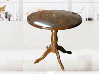 Стол круглый (шелкография) - Мебельная фабрика «Алина-мебель»