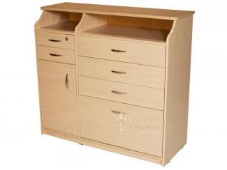 Вместительный комод 02А - Мебельная фабрика «Мальта»