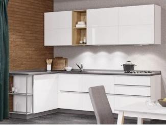Белая кухня Глос - Изготовление мебели на заказ «Кухни ЧУ»