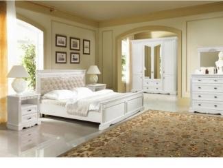 Спальный гарнитур Афина белая - Мебельная фабрика «Ивна»