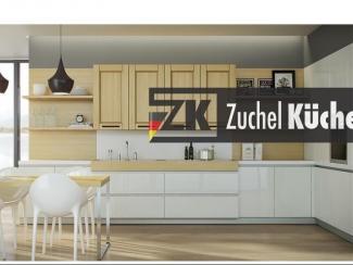 Кухонный гарнитур Мангейм Сливки - Мебельная фабрика «Zuchel Kuche»