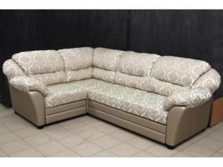 Светлый угловой диван Ванесса