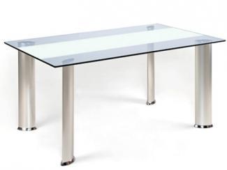 Стол обеденный Д157серебро - Мебельная фабрика «Лагуна»