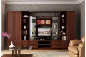 Зальная стенка «Сенатор-2» - Мебельная фабрика «МиФ»
