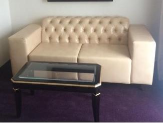 Мягкий кожзам диван