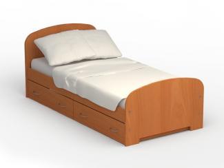 Кровать  с выдвижными ящиками 900