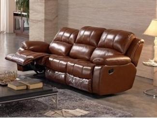 Диван для гостиной с реклайнером - Мебельная фабрика «Defy Mebel»