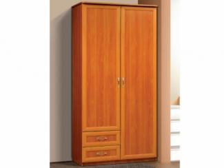 Шкаф для платья и белья В-1 2-х створчатый с 2-мя ящиками - Мебельная фабрика «Актив М»