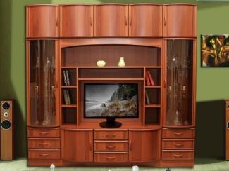 Гостиная стенка Татьяна 14 - Мебельная фабрика «Кошелев и К»