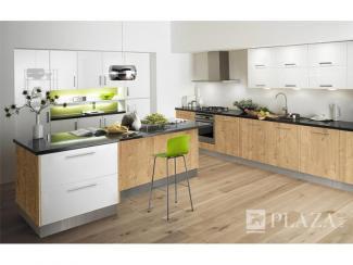 Кухонный гарнитур угловой Брава eco - Мебельная фабрика «PlazaReal»