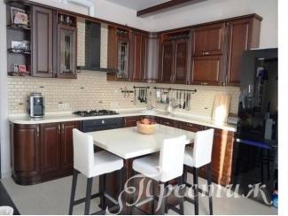 Кухня из массива дерева  LITIZIA 2 - Мебельная фабрика «Престиж»