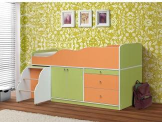 Кровать детская Светлячок - Мебельная фабрика «РиАл», г. Волжск