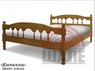 Кровать Капелла из дерева - Мебельная фабрика «ВМК-Шале»
