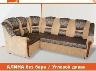 Простой диван Алина без бара - Мебельная фабрика «ЛИОН»