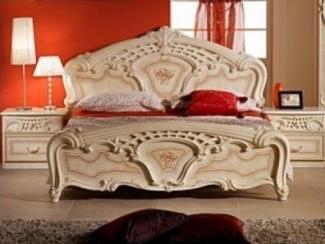 Спальный гарнитур «Роза бежевая» - Оптовый мебельный склад «Дина мебель»