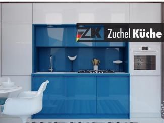 Кухонный гарнитур прямой Галле Аквамарин - Мебельная фабрика «Zuchel Kuche (Германия-Белоруссия)»