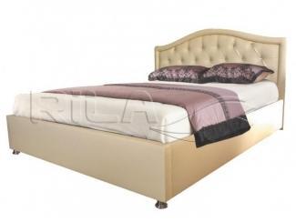 Кровать из кожи JANYI - Мебельная фабрика «Rila»