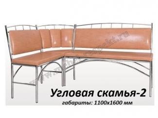 Угловая скамья 2 - Мебельная фабрика «Респект»
