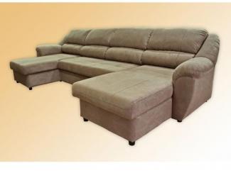 Угловой диван  Мечта-2  Босс  с двумя банкетками на дельфине - Мебельная фабрика «Лидер», г. Казань