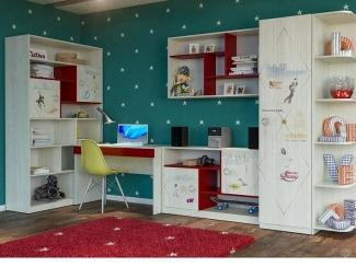 Детская модульная Актив 6 - Мебельная фабрика «Сканд-Мебель»