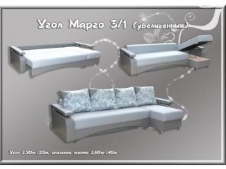 Угловой диван Марго 3-1 увеличенный