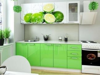 Кухня с фотопечатью Лайм  - Мебельная фабрика «Элна»