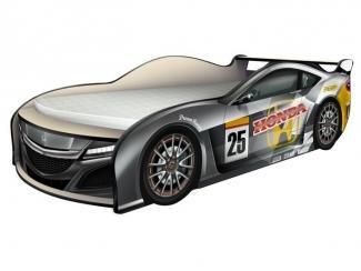 Кровать Хонда Гоночная Energy черный - Мебельная фабрика «КАРоБАС»