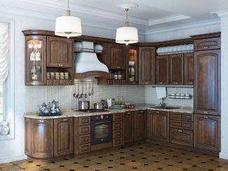 Кухня угловая Камилла патина - Мебельная фабрика «Вариант М»