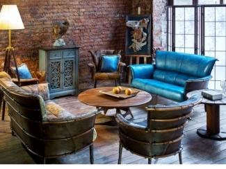 Гостиная в стиле Лофт - Импортёр мебели «Arredo Carisma (Австралия)»