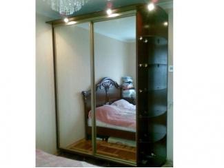 Зеркальный шкаф-купе с подсветкой  - Мебельная фабрика «Таурус»