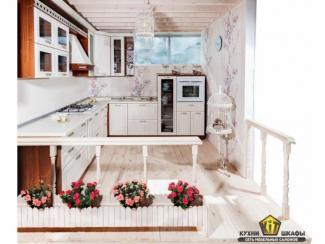 Кухня Николь Бьянка белая - Изготовление мебели на заказ «КИТ», г. Иркутск