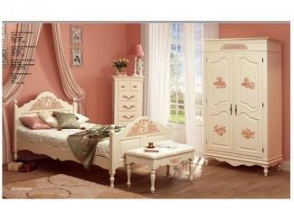 Спальня Детская Прованс 2 - Мебельная фабрика «Артим»
