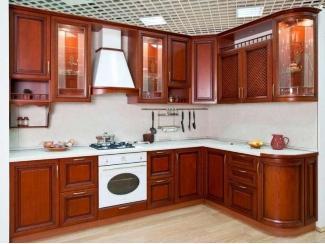 Кухня из массива KMS 5 - Мебельная фабрика «FSM (Фабрика Стильной Мебели)»