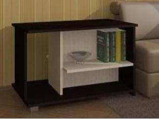 Черно-белый журнальный стол №11 - Изготовление мебели на заказ «Мебель для вашего дома»