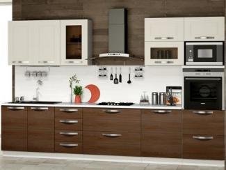 Кухня прямая «Капучино» - Мебельная фабрика «ТриЯ»