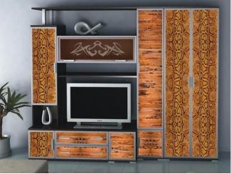 Гостиная стенка люкс Аврелия 13 - Мебельная фабрика «Артемебель», г. Владимир