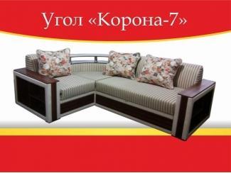 Угловой диван Корона-7 - Мебельная фабрика «Корона»
