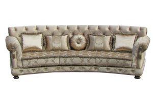 Радиусный диван КАРТЬЕ НОВА - Мебельная фабрика «Марина»