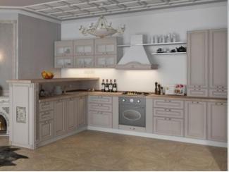 Кухонный гарнитур Кантри в интерьере  - Мебельная фабрика «SON&C», г. Пенза