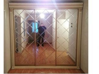 Шкаф купе с хрустальной гравировкой - Мебельная фабрика «Таурус»