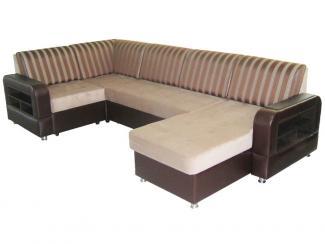 Угловой диван Камила 7 с оттаманкой - Мебельная фабрика «Веста»