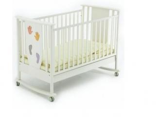 Детская кроватка качалка Aura - Мебельная фабрика «Papaloni»